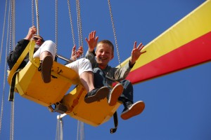 Familienurlaub Ostsee: Ein Ausflug in den Hansa-Park.